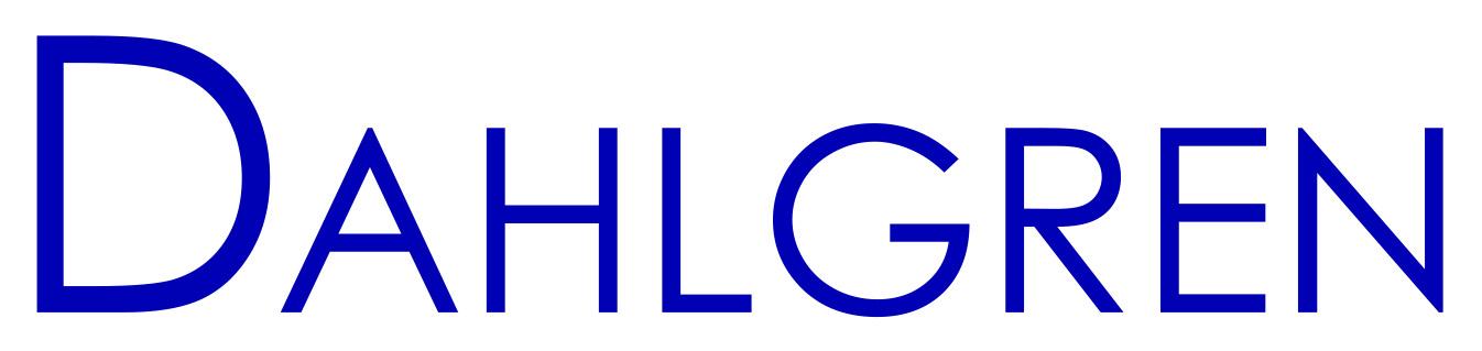 Dahlgren logotype